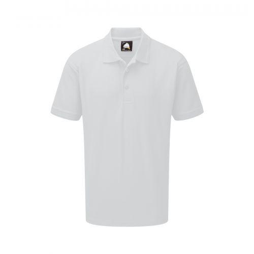 Oriole Wicking Poloshirt - XL - White