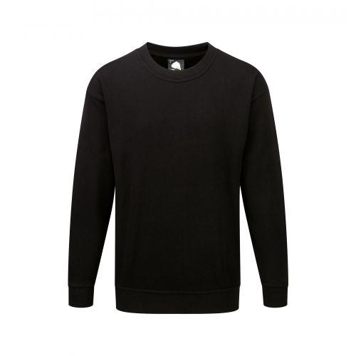 Seagull 100% Cotton Sweatshirt - 3XL - Black