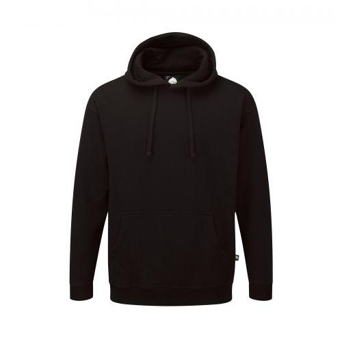 Owl Hooded Sweatshirt - 3XL - Black