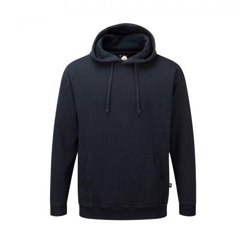 Owl Hooded Sweatshirt - XL - Navy