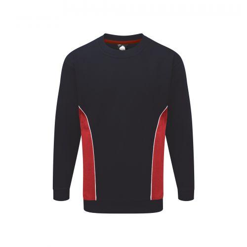 Silverswift Premium Sweatshirt - XS - Navy - Red Fleeces, Sweatshirts & Jumpers 1290-XS-NVRD