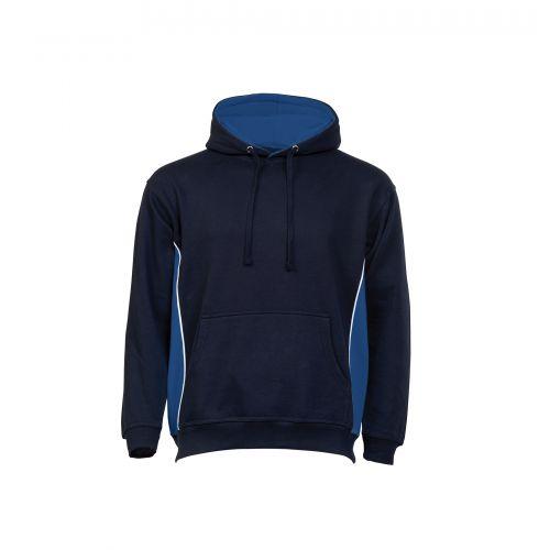 Silverswift Hooded Sweatshirt - S - Navy-Royal