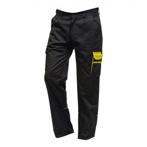 Silverswift Combat Trouser - 32T - Black - Yellow