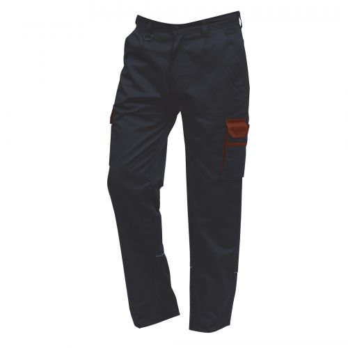 Silverswift Combat Trouser - 38T - Navy - Red