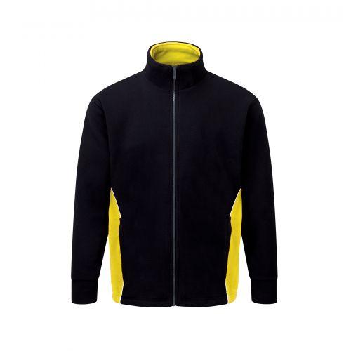 Silverswift Premium Fleece - 4XL - Black - Yellow