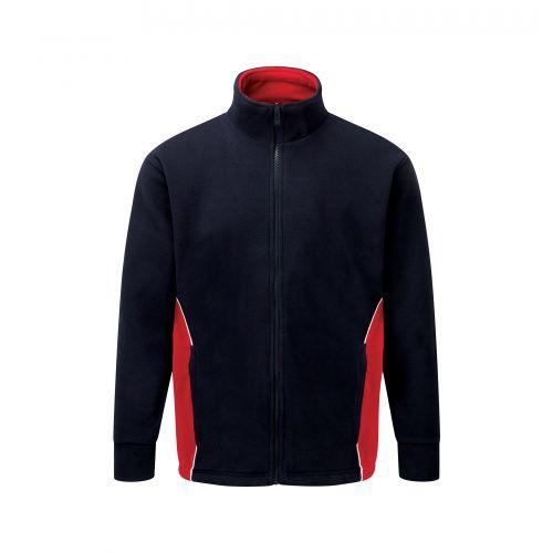 Silverswift Premium Fleece - M - Navy - Red