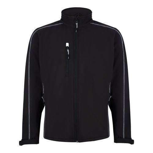 Crane Softshell Jacket - XS - Black