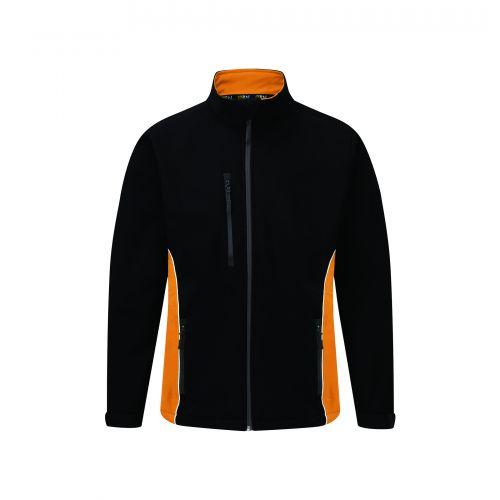Silverswift Softshell Jacket - 2XL -Black - Orange