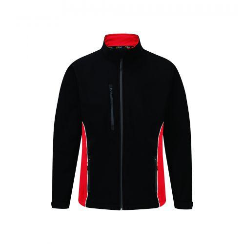 Silverswift Softshell Jacket - 4XL - Black - Red