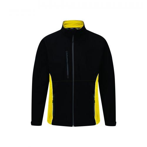 Silverswift Softshell Jacket - 5XL - Black - Yellow