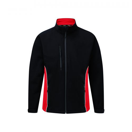 Silverswift Softshell Jacket - S - Navy - Red
