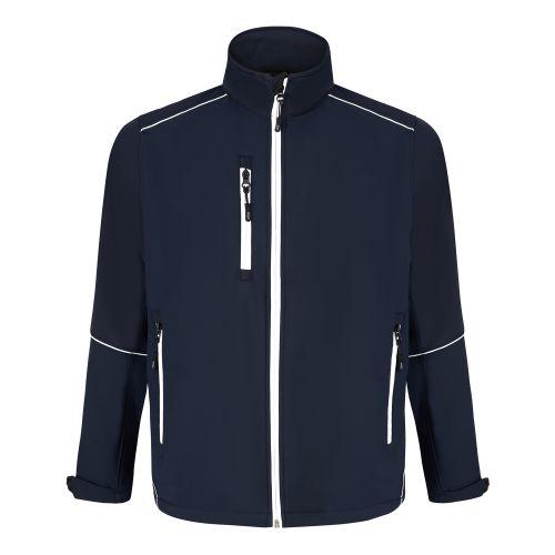 Fireback Softshell Jacket - M - Navy - Navy