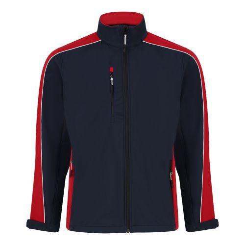 Avocet Softshell Jacket - 5XL - Black - Royal Blue