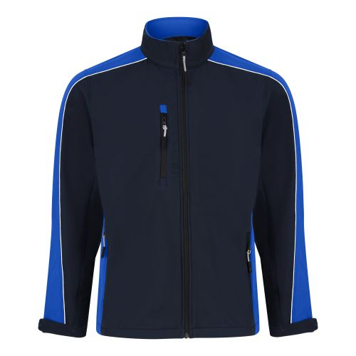 Avocet Softshell Jacket - XS - Navy - Royal Blue