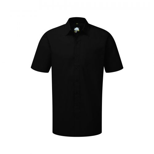 Manchester Premium S/S Shirt - 14.5 - Black