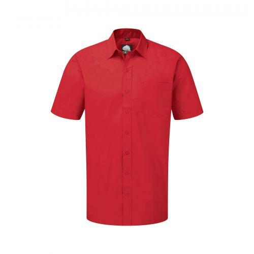 Manchester Premium S/S Shirt - 16 - Red