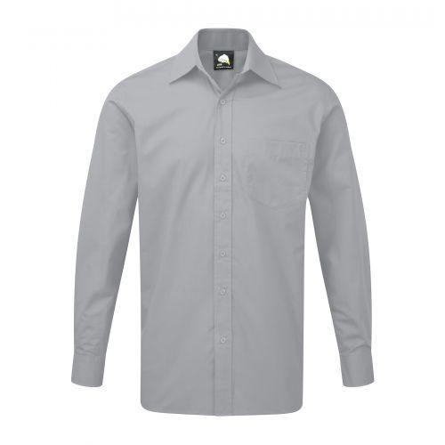 Manchester Premium L/S Shirt - 20 - Silver