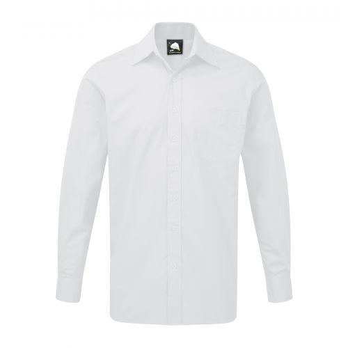 Manchester Premium L/S Shirt - 18.5 - White