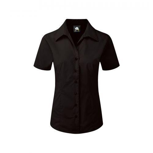 Edinburgh Premium S/S Blouse - 14 - Black