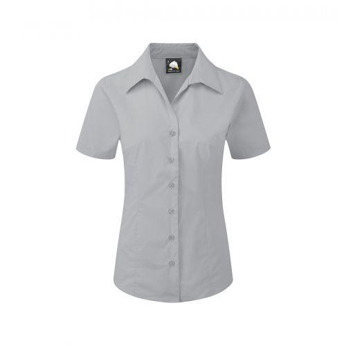 Edinburgh Premium S/S Blouse - 24 - Silver