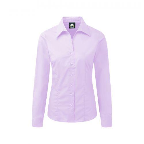 Edinburgh Premium L/S Blouse - 28 - Lilac