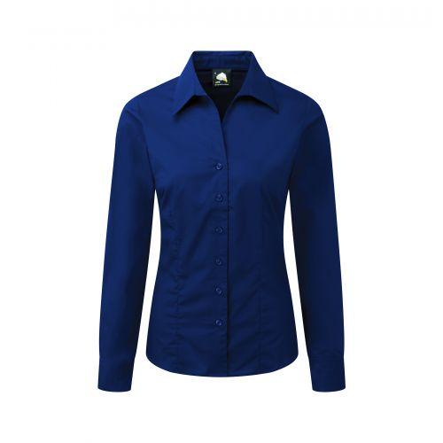 Edinburgh Premium L/S Blouse - 10 - Royal