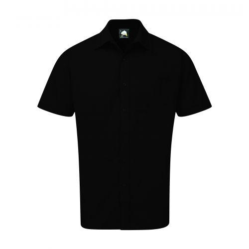 Essential S/S Shirt - 20 - Black