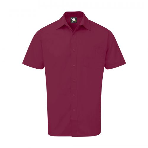 Essential S/S Shirt - 17 - Maroon