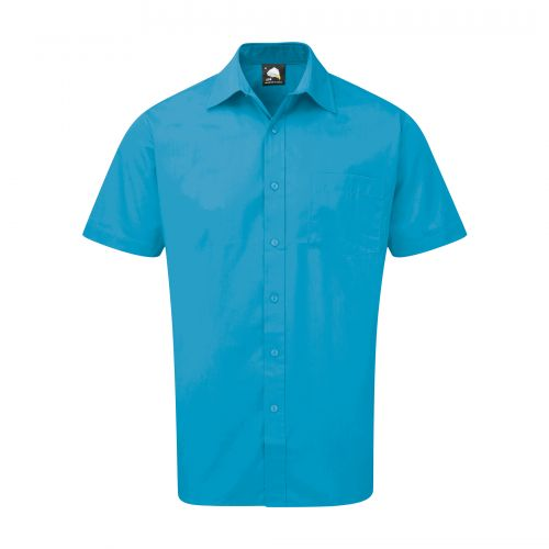 Essential S/S Shirt - 18 - Teal