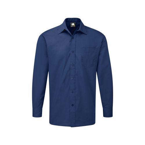 Essential L/S Shirt - 16.5 - Royal