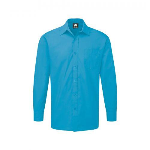 Essential L/S Shirt - 18 - Teal