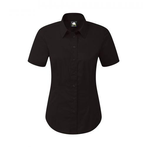 Essential S/S Blouse - 8 - Black