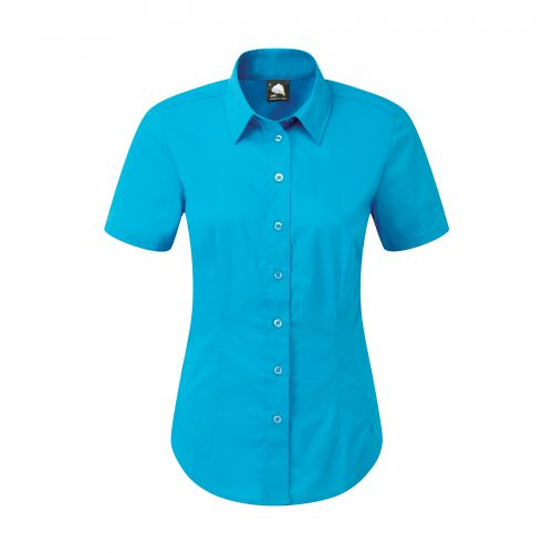 Essential S/S Blouse - 26 - Teal