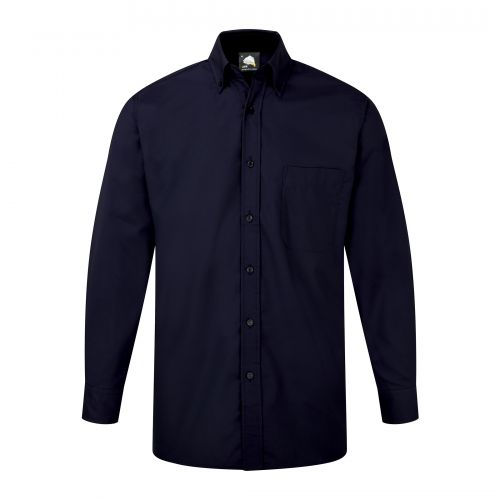 Premium Oxford L/S Shirt - 17 - Navy