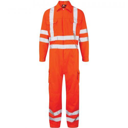 Hi-Vis Shrike Coverall - 2XL - Hi-Vis Orange