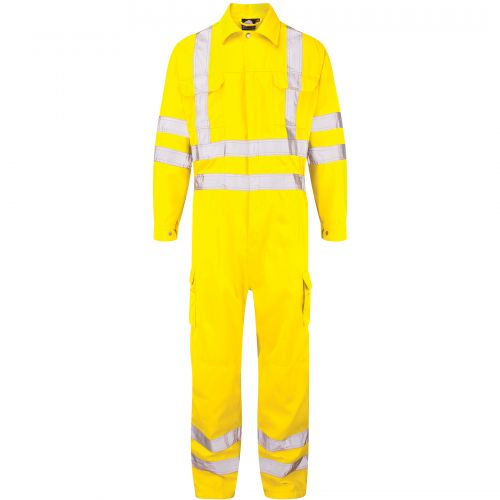 Hi-Vis Shrike Coverall - S - Hi-Vis Yellow