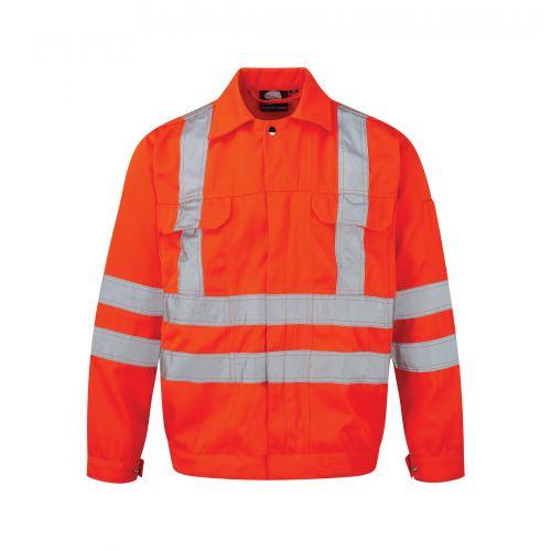 Hi-Vis Rook Jacket - M - Hi-Vis Orange