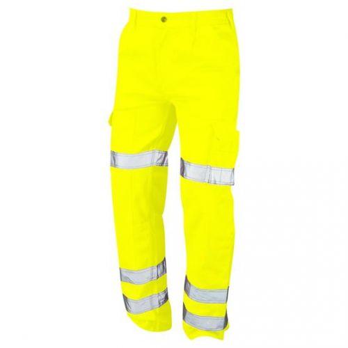 Hi-Vis Vulture Ballistic Trouser - 50R - Hi-Vis Yellow