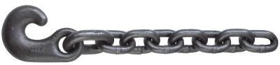 ACCO CHAIN Winch Line Tail Chain Assemblies, Size 1 in, 47,700 lb Limit, Rust Resistant