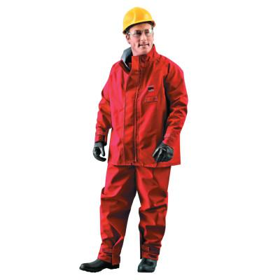 ALPHATEC Alphatec Polyester Trilaminate Jackets, Large, Red