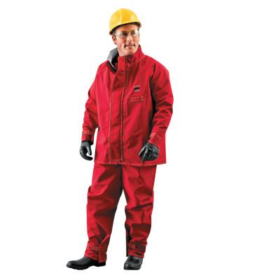 ALPHATEC Sawyer-tower CPC Polyester Jackets, X-Large, Red