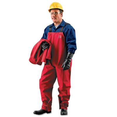ALPHATEC Sawyer-Tower CPC Polyester Bib Overalls, Red, Large