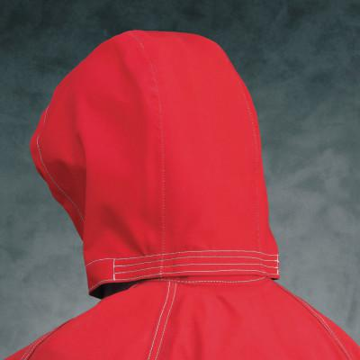 ANSELL Sawyer-Tower CPC Polyester Three Piece Hood, Red, One Size