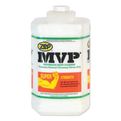 ZEP PROFESSIONAL MVP Heavy-Duty Waterless Hand Cleaner, 1 gal Jug, DISP/Pump Not Incl