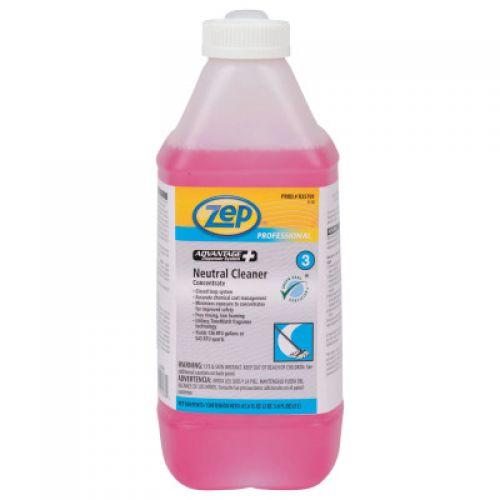 ZEP PROFESSIONAL Advantage+ Neutral Floor Cleaner, 2 Liter
