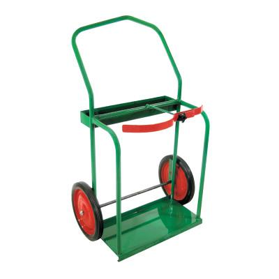 """ANTHONY High-Rail Frame Dual-Cylinder Cart, For 9.5""""-13.5"""" dia., 14"""" Solid Rubber Wheels"""