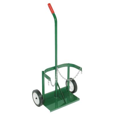 """ANTHONY Dual-Cylinder Carts with Double-Reinforced Frames, Holds 7""""-8"""" dia. Cylinders"""