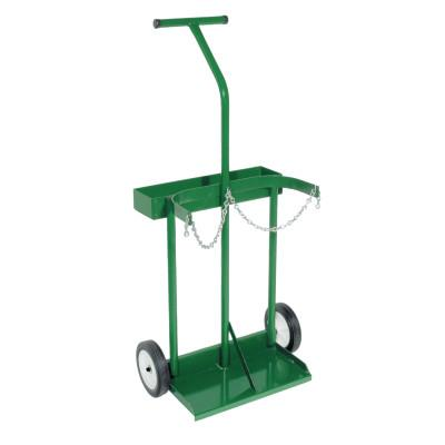 """ANTHONY Dual-Cylinder Carts with Double-Reinforced Frames, Holds 8""""-8.5"""" dia. Cylinder"""