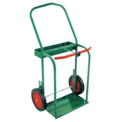 """ANTHONY High-Rail Frame Dual-Cylinder Carts, Holds 8""""-8.5"""" dia. Cylinders"""