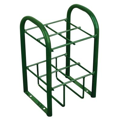 ANTHONY Multiple Cylinder Stands, Steel, 10 1/2 in W x 19 1/2 in L x 12 1/2 in D, Green